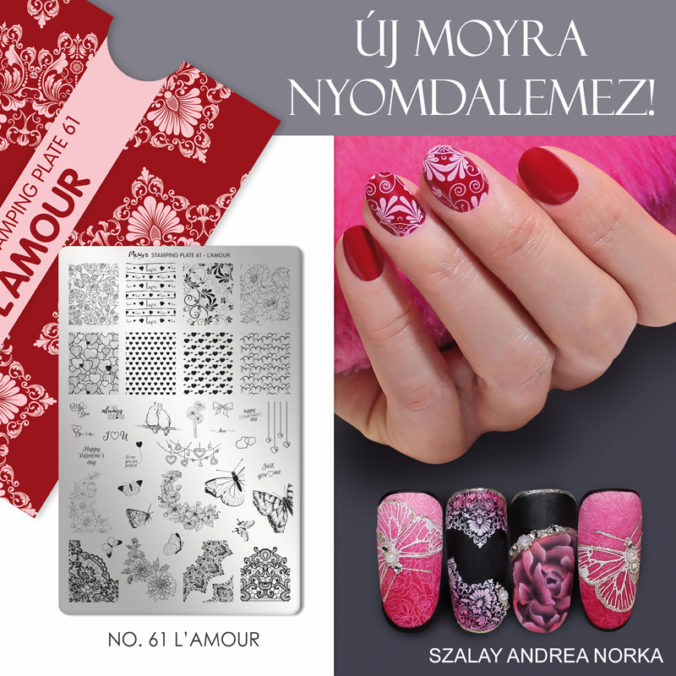 Új Moyra nyomdalamez: No. 61 L'Amour