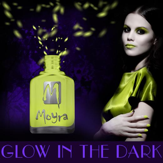 Moyra Glow in the dark körömlakk