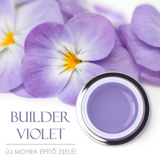 Új Moyra Builder Violet építő zselé!