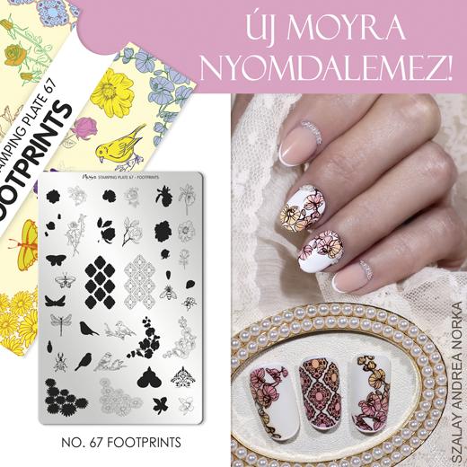 Moyra Nyomdalemez No. 67 Footprints