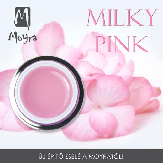 Moyra Milky Pink epitő zselé