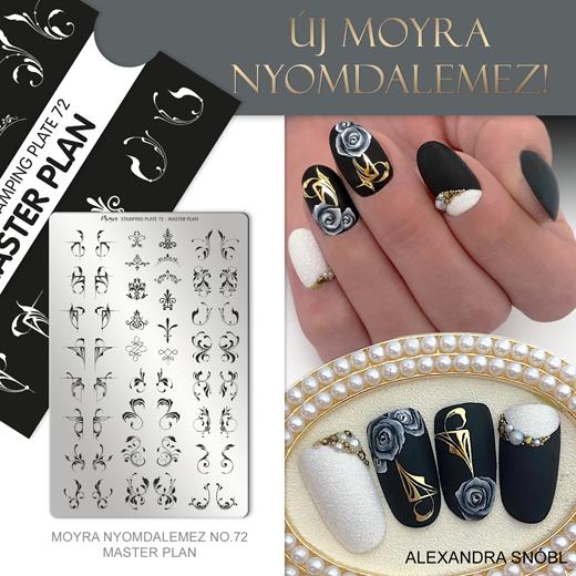 Moyra nyomdalemez No. 72 Master plan