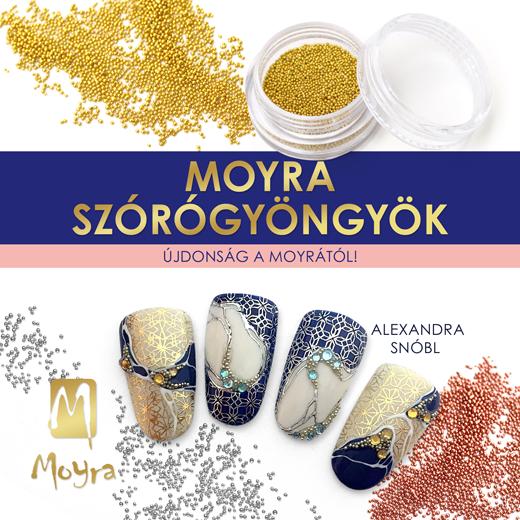 Újdonság a Moyrától: Szórógyöngyök!