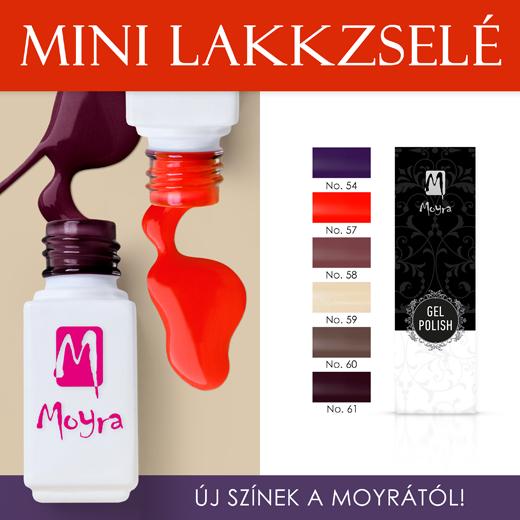 Új Moyra Mini Lakkzselék!