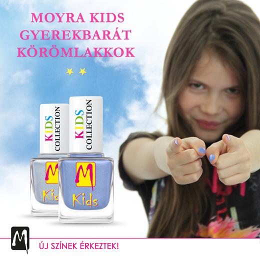 Új színekkel bővült a Moyra Kids Kollekció!
