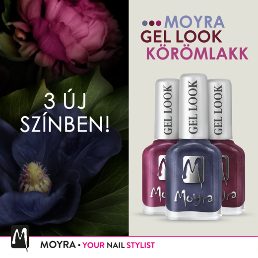 Új Moyra Gel Look Körömlakkok!
