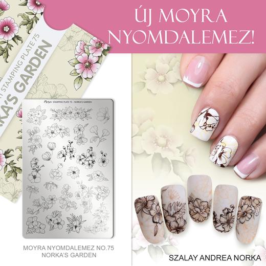 Moyra Nyomdalemez 75 Norka's garden