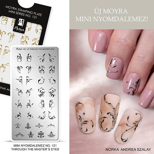 Új Moyra Mini Nyomdalemez: No. 121 Through the master's eye!