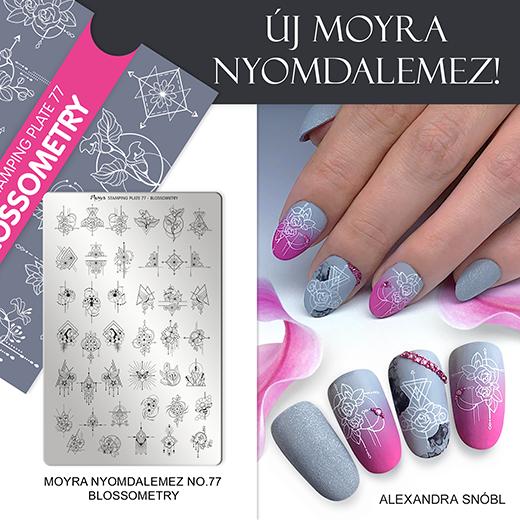 Új Moyra Nyomdalemez: No. 77 Blossometry