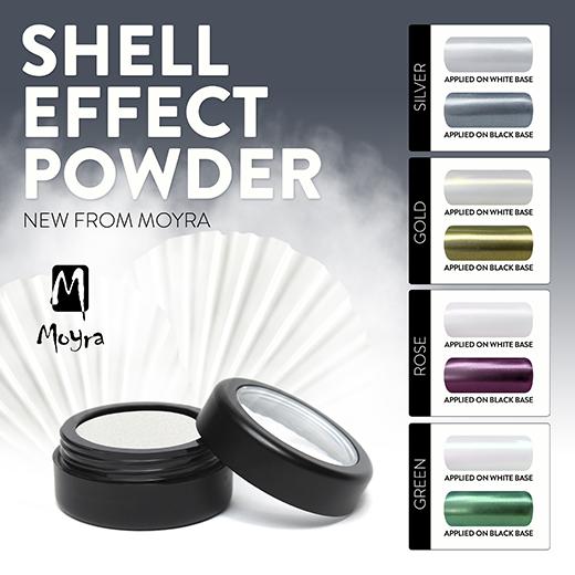 Újdonság: Moyra Shell Effect Powder 4 színben!