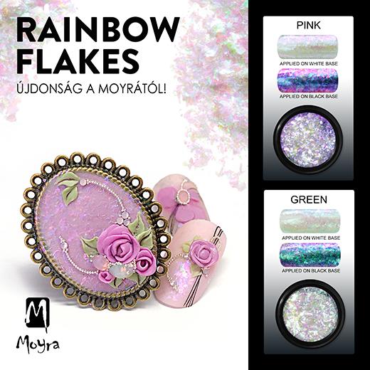 Újdonság: Moyra Rainbow flakes!