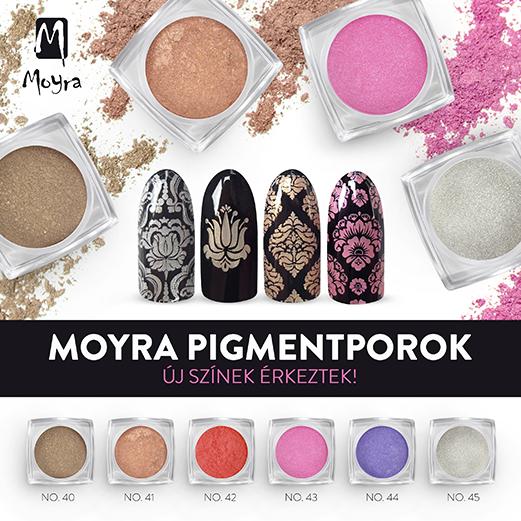 Moyra Pigmentporok 6 új színben!