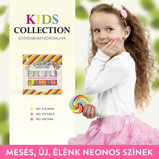 Megérkeztek a Moyra KIDS körömlakk kollekció új árnyalatai és az azokból álló Lollipop szett