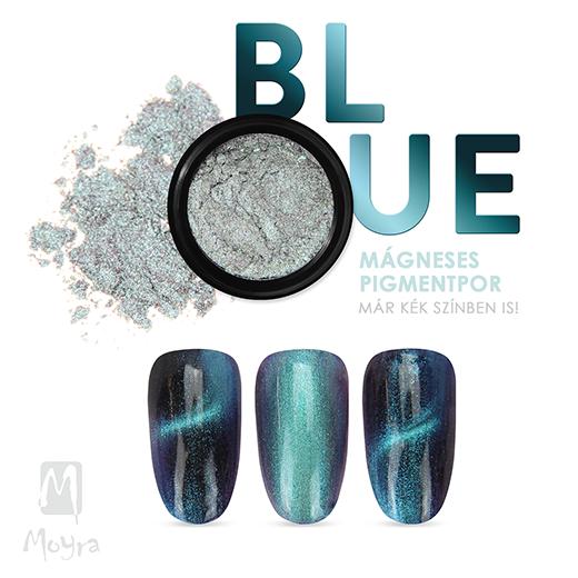 Moyra Mágneses Pigmentpor No. 07 Kék