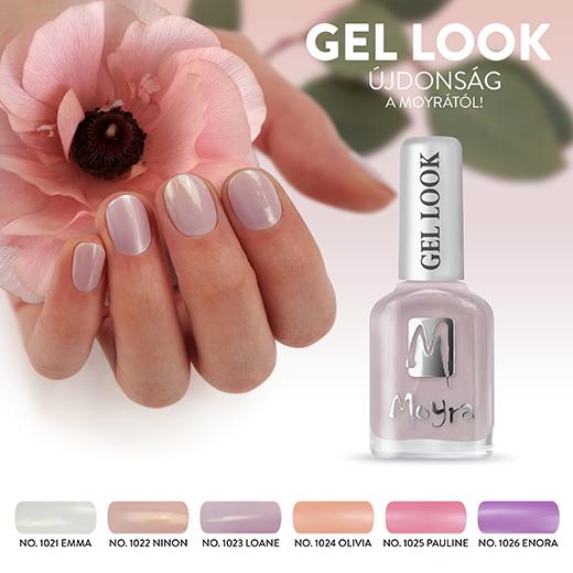 Új színekkel bővült a Moyra Gel Look kollekció!