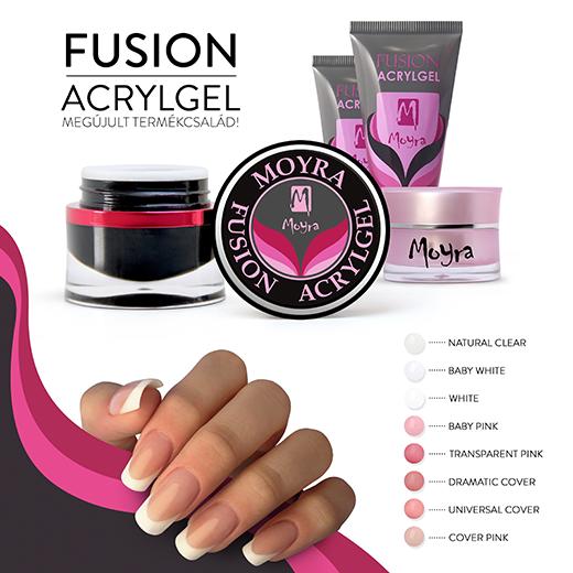 Megújult a Moyra Fusion Acrylgel termékcsalád!