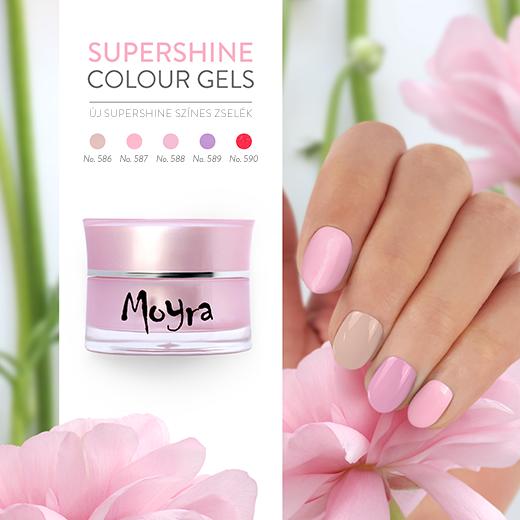Megérkeztek az új Moyra SuperShine fixálásmentes színes zselék!