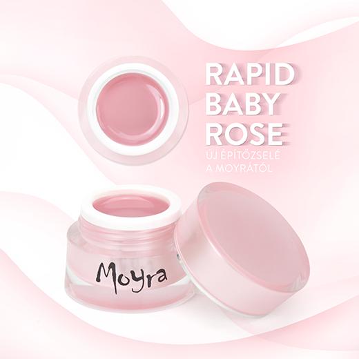 Új Moyra építő zselé: Rapid Baby Rose!