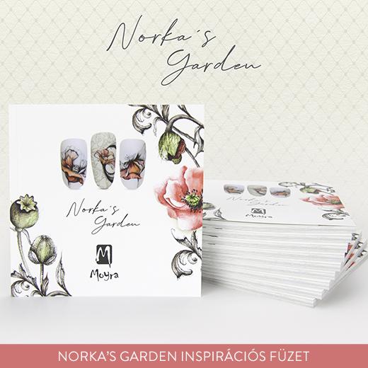 Norka's Garden inspirációs füzet