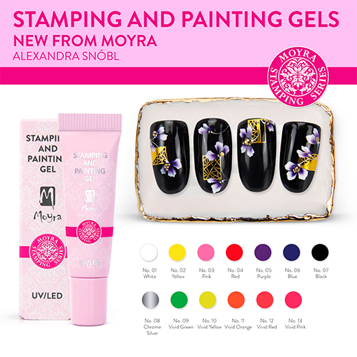 Újdonság! Moyra Stamping and painting gel