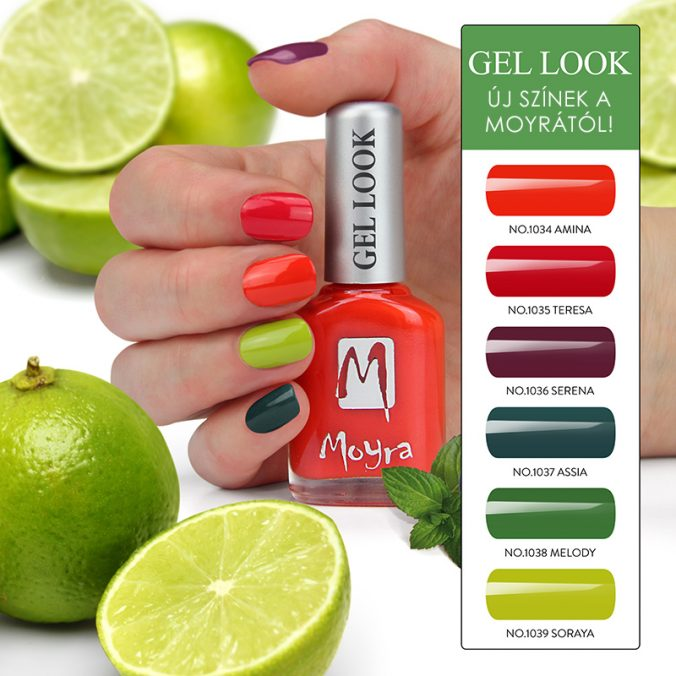 Nyári színekkel bővült a Gel Look kollekció!