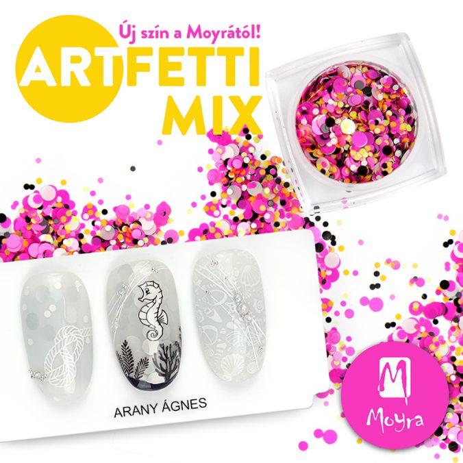 Újdonság! Moyra Artfetti Mix No. 03